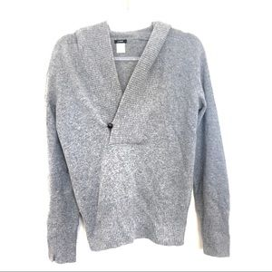 J.Crew Wool Cashmere Blend Hooded Sweater Sz M
